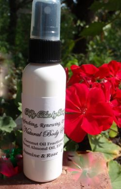 Natural Dry Oil Body Spray